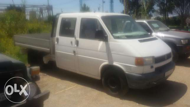 Vw transporter double cabine