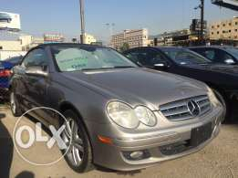 Mercedes Clk 350 gray 2006