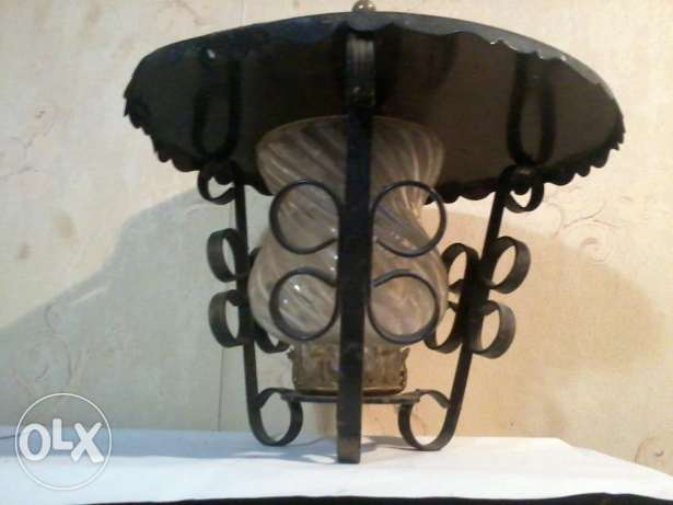 Old Lamp, for outside or inside, from Germany, 20$,