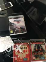 ps3+ controller+ 3 games