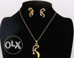 African Style Gold Plated Set