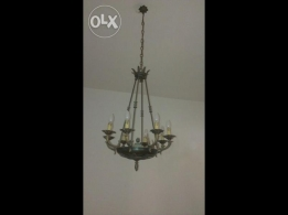 Two Antiques bronze chandelier