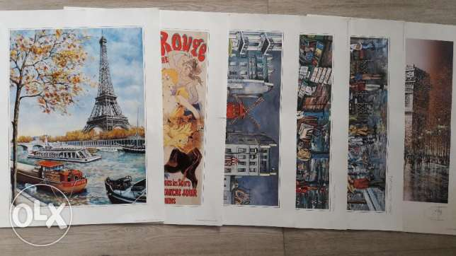 Paris paintings reproduction