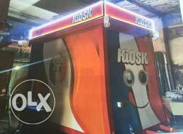 Kiosk fully equiped brand new for sale