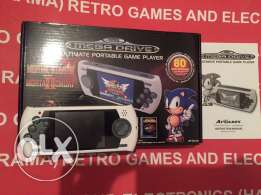 sega all best game handheld with box