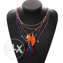 Stylish full color necklace