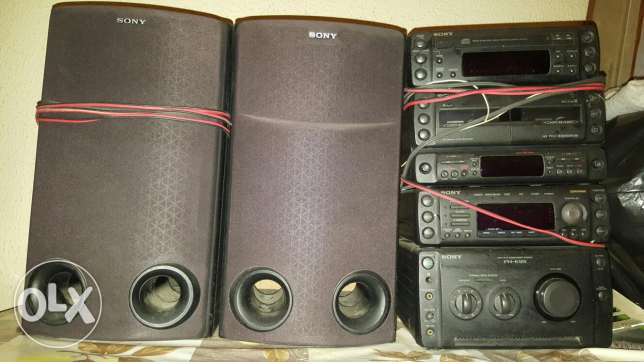 Sony Full Installation Spearkers And Stereo