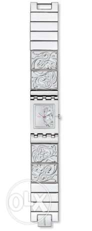 Swatch silver watch