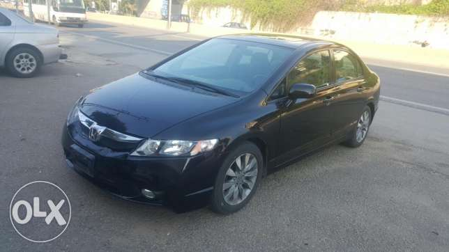 Honda civic EX 2009 black..