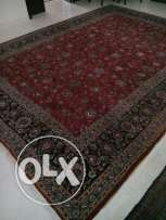 Iranian wool carpet hand made