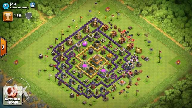 Clash of clans towhal 8 /7 عكار -  3