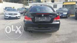 Bmw 135 M package 2009 full options black interior ajnabieh تقسيط بنك