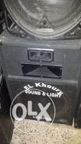 2 speakers sound king sound system dj set free delivery