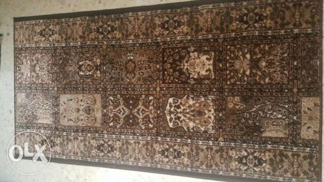 5 new pieces Carpet سجادة 5 قطع
