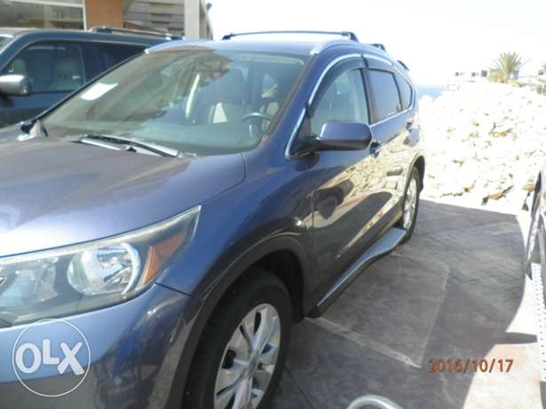 Honda CRV EXL 2012 dark blue clean كسروان -  3