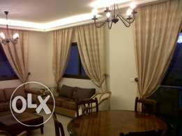 WITH GARDEN Beautiful Furnished flat for rent in quite dayshounieh man