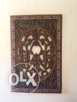 wall decoration handmade wood special piece 90 cm