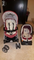 Pep perego Stroller and car seat good conditions