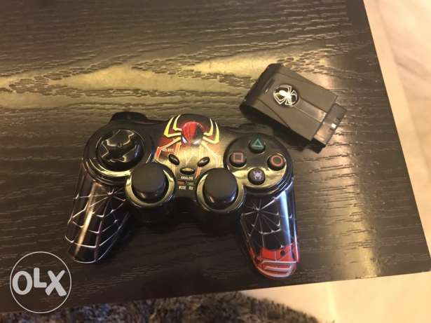Spider man controller for playstation 2
