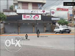 Commercial property/Shop in excellent location - Hazmieh