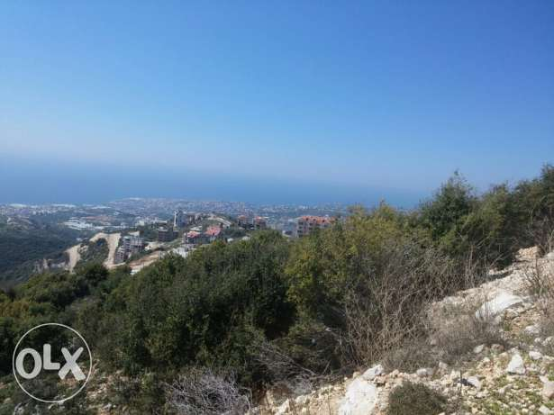 land for sale in Hboub Jbeil - Panoramic seaview