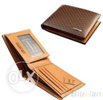 New Stylish Classical Men's PU Leather The Look Wallet
