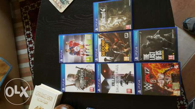Ps4 cds in a perfect condition for sale or trade