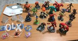 disney infinity xbox 360 + 18 characters and more