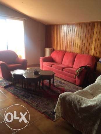 chalet for rent in cité 4 Oun El Simane 2 bedrooms living dining كسروان -  4