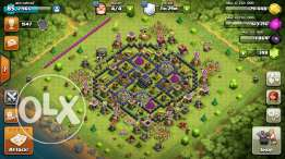 clash of clans base for sale only for iphones