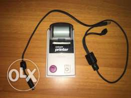 nintendo gameboy printer + paper roll + cable