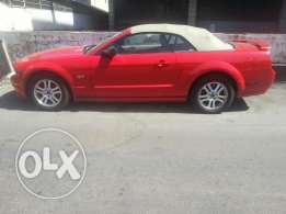 Nice convertible sport car Mustang big engine and much more