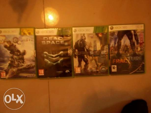 Original cd's for sale for xbox 360