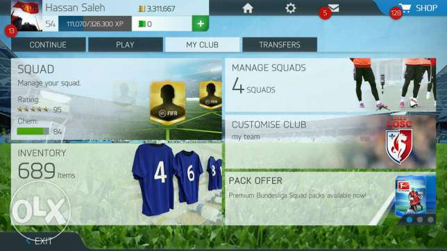 Account fifa 16 mobile الشياح -  1
