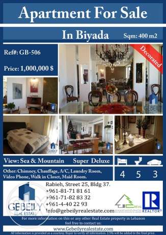 Apartment for Sale in Biyada GB.506