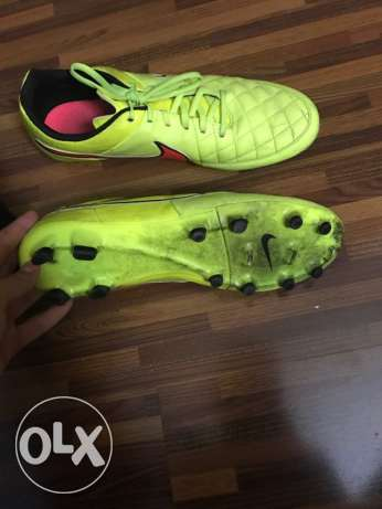 Nike Tiempo size 46 Football Shoes