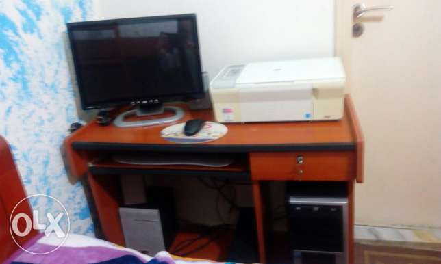 Used desktop computer + printer جبيل -  1
