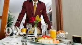 Room service&housekeeping