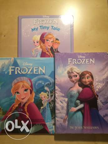 frozen book pack available in Zahle .contact whatsapp