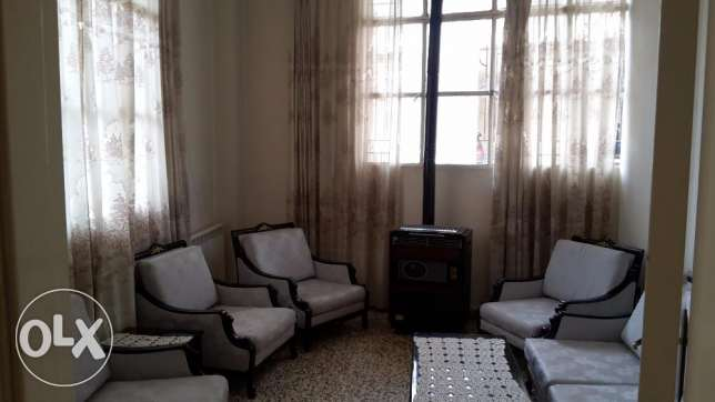 Rassieh fully furnished apartment for rent .