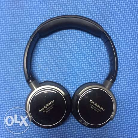 Headphones fm stereo radio MP3 player
