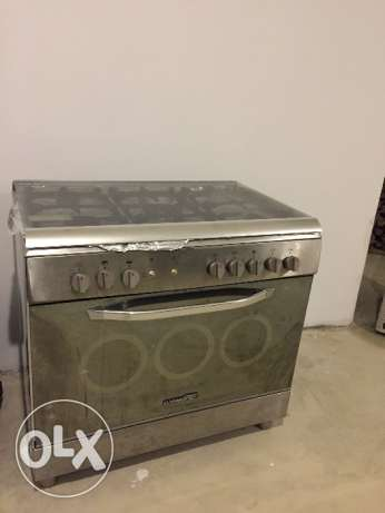 Open burner with oven ( gaz/ electric) La germania