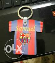 Customised tshirt keychain