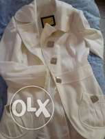 White coat new.very nise prize and size L