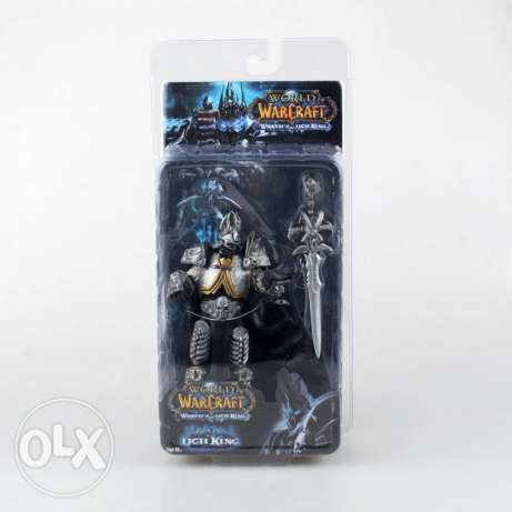Wow Arthas 15 cm PVC Action Figure Model الدورة -  1