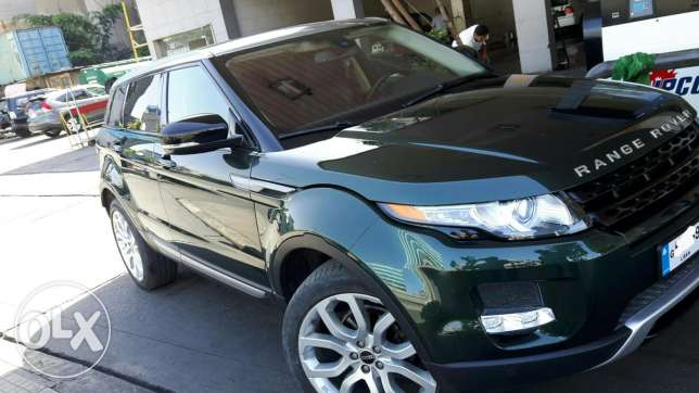 Range Rover Evoque 2012 pure plus بياقوت -  3