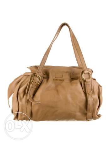 MIU MIU Tan Leather Shoulder Bag - Authentic
