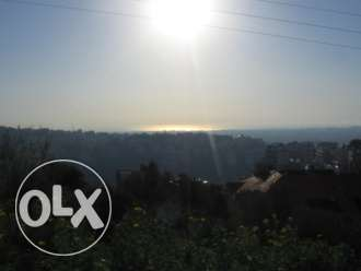 Land 2000sqm for sale in Mansourieh, Metn- VIEW BEIRUT