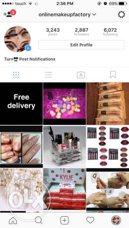Makeup,accessories and more