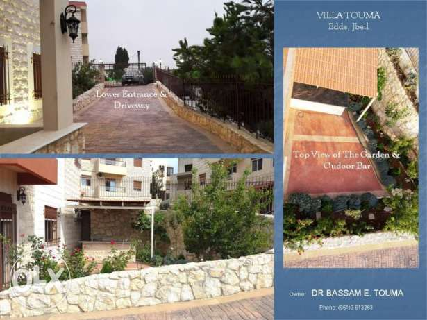 Brand New Villa Overlooking the Mediterranean Sea - Edde, Jbeil. جبيل -  2